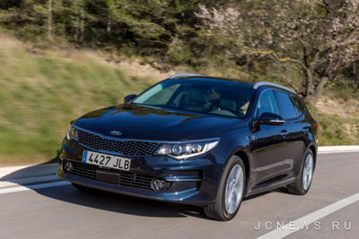 Kia Optima Sportswagon получит 245 л.с.